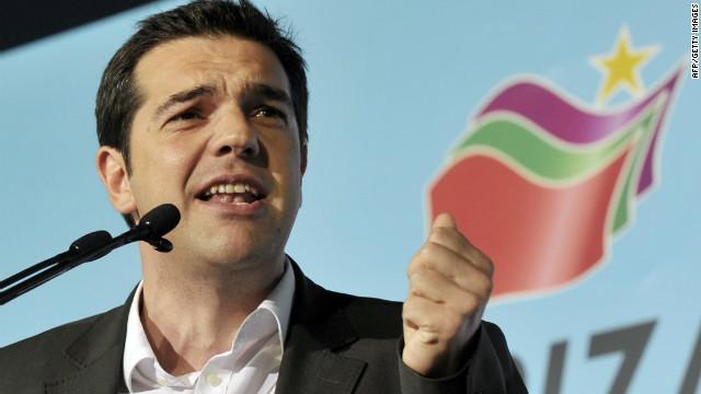 Grecia no se apegará a los planes de austeridad, aseguró el victorioso Alexis Tsipras del partido Syriza.