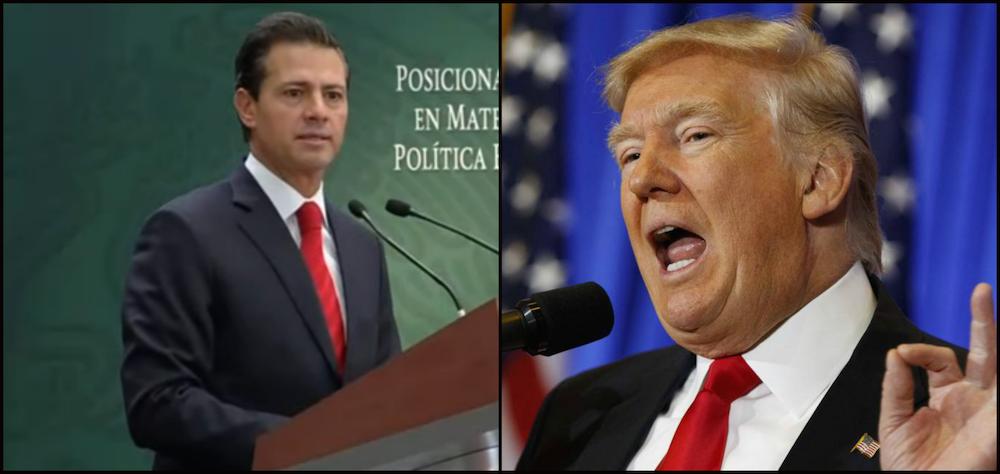 Donald Trump pagará el muro con un impuesto de 20% sobre todas las importaciones mexicanas, dijo su portavoz.