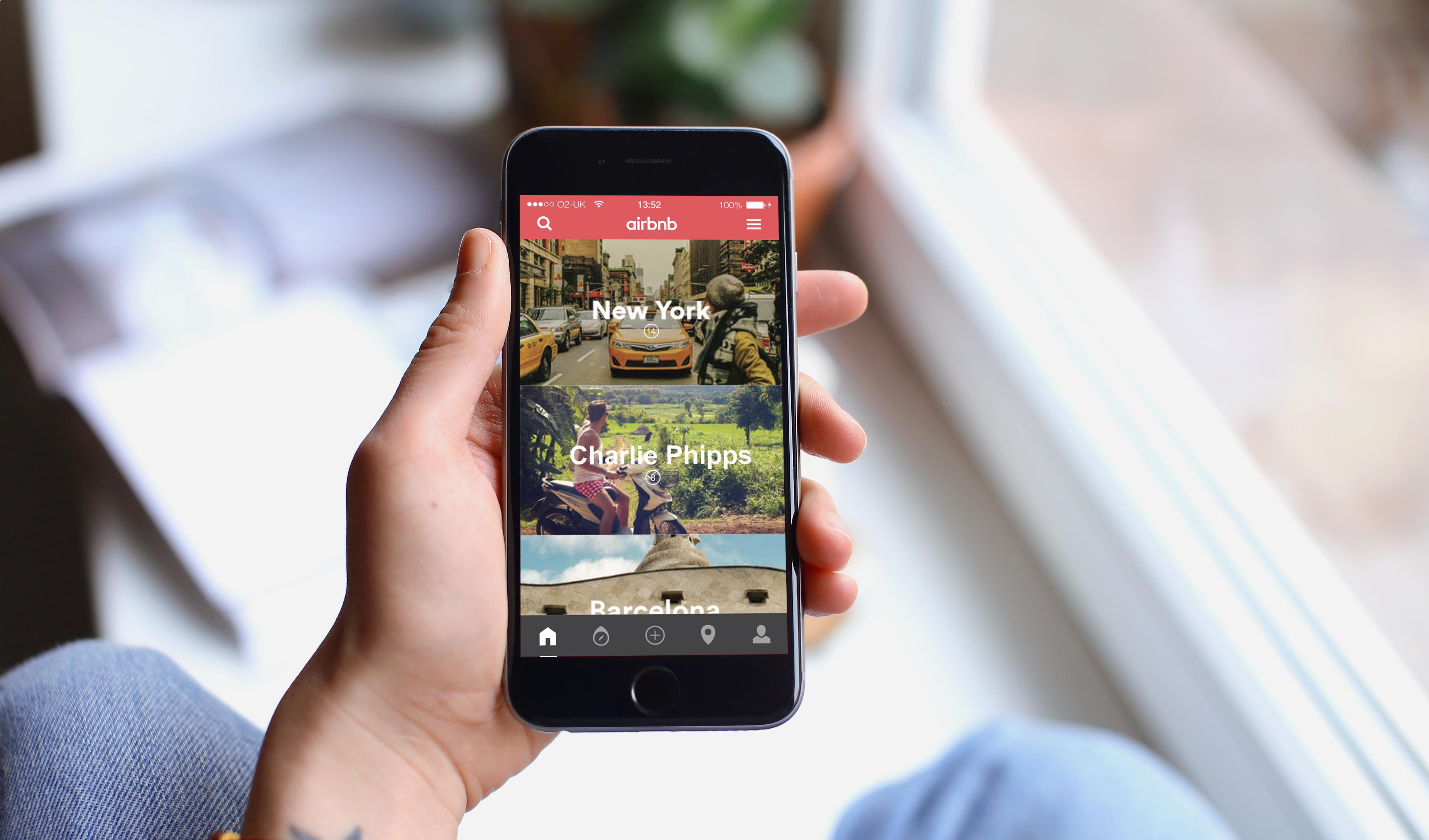 La plataforma permite a los usuarios encontrar alojamiento en miles de ciudades del país.