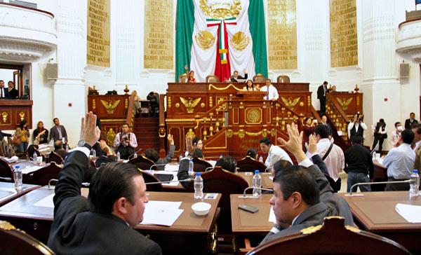 Para la próxima legislatura ya va a ser posible la reelección de diputados.
