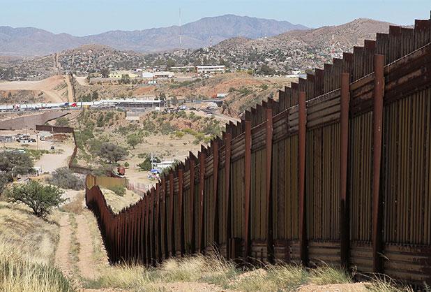 El muro dividirá a México y Estados Unidos en toda la frontera.
