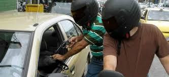 Los robos o asaltos son el delito más común en la Zona Metropolitana de la Ciudad de México.