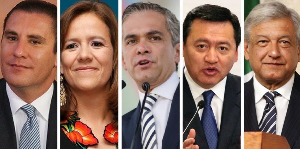 Si se postulan ocho candidatos en las elecciones de 2018 la presidencia se definirá con menos de un tercio de los votantes.