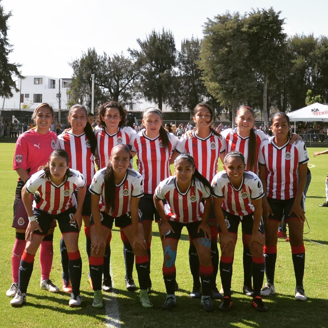 Las Chivas buscan el liderato del Grupo 2 de la femenil