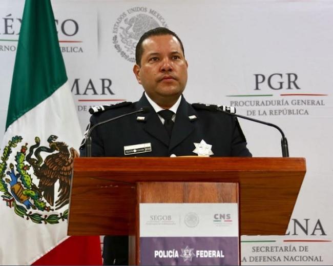 Manelich Castilla Craviotto, comisionado general de la Policía Federal.