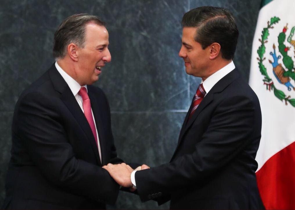 Peña Nieto al fin se decidió y designó a José Antonio Meade como candidato del PRI para relevarlo en Los Pinos.