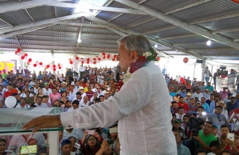 Andrés Manuel López Obrador, expresidente del partido Movimiento de Regeneración Nacional.