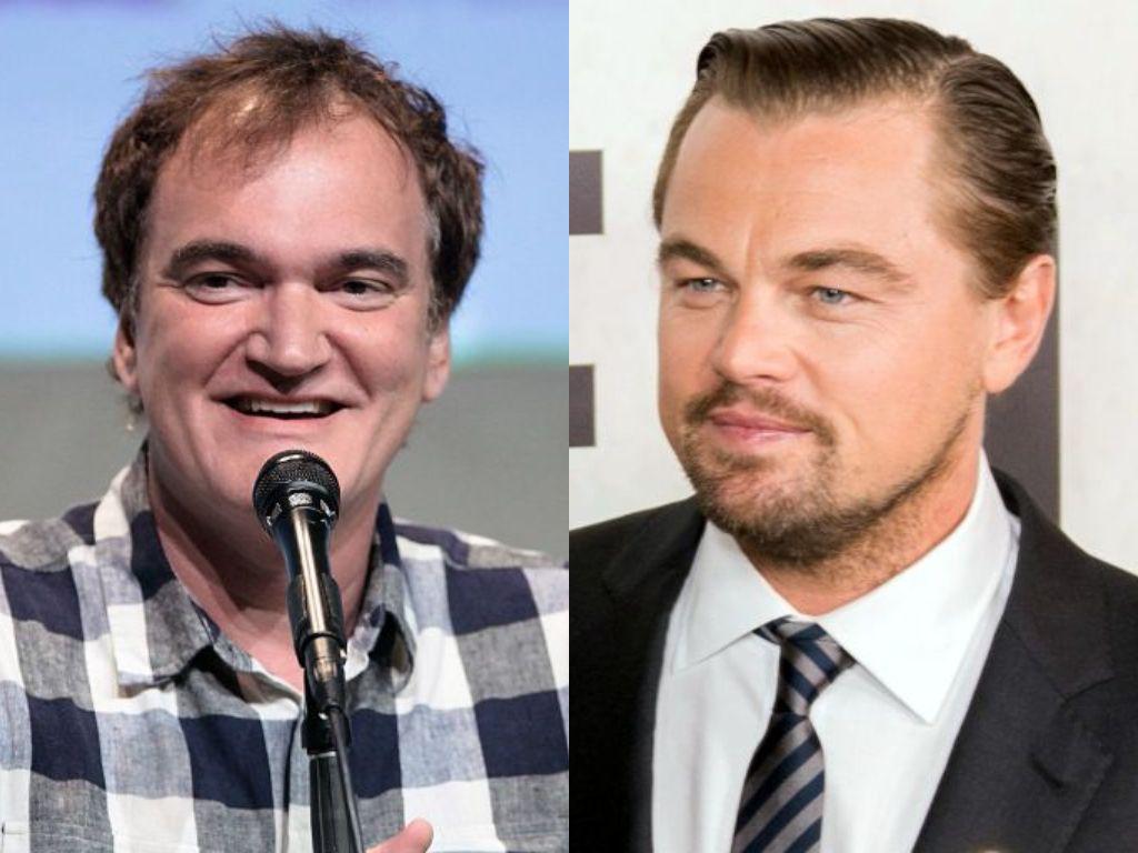 Tarantino y DiCaprio. Fotos: Wikicommons