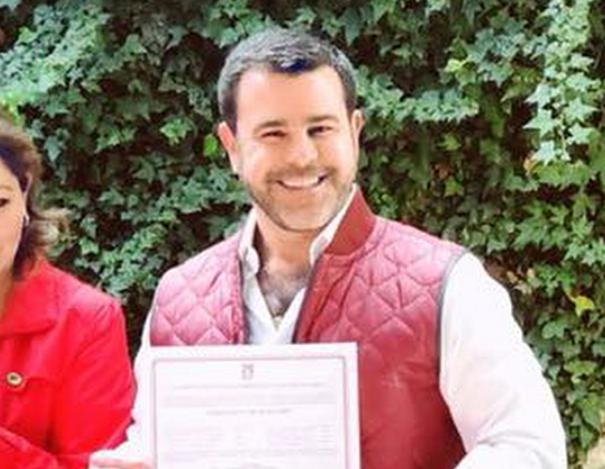 El actor Eduardo Capetillo se lanza como candidato a alcaldía en  Edomex. Foto: Instagram