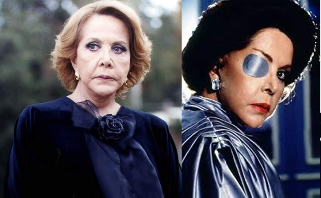 María Rubio encarnó a la villana más famosa de las telenovelas mexicanas, Catalina Creel.