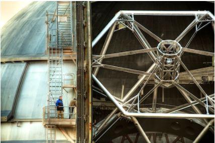El Gran Telescopio Canarias es uno de los más grandes del mundo, construído en colaboración por España, Estados Unidos y México.