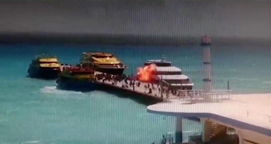 Hallazgos en la explosión del ferry demostraron a expertos que fue provocada.