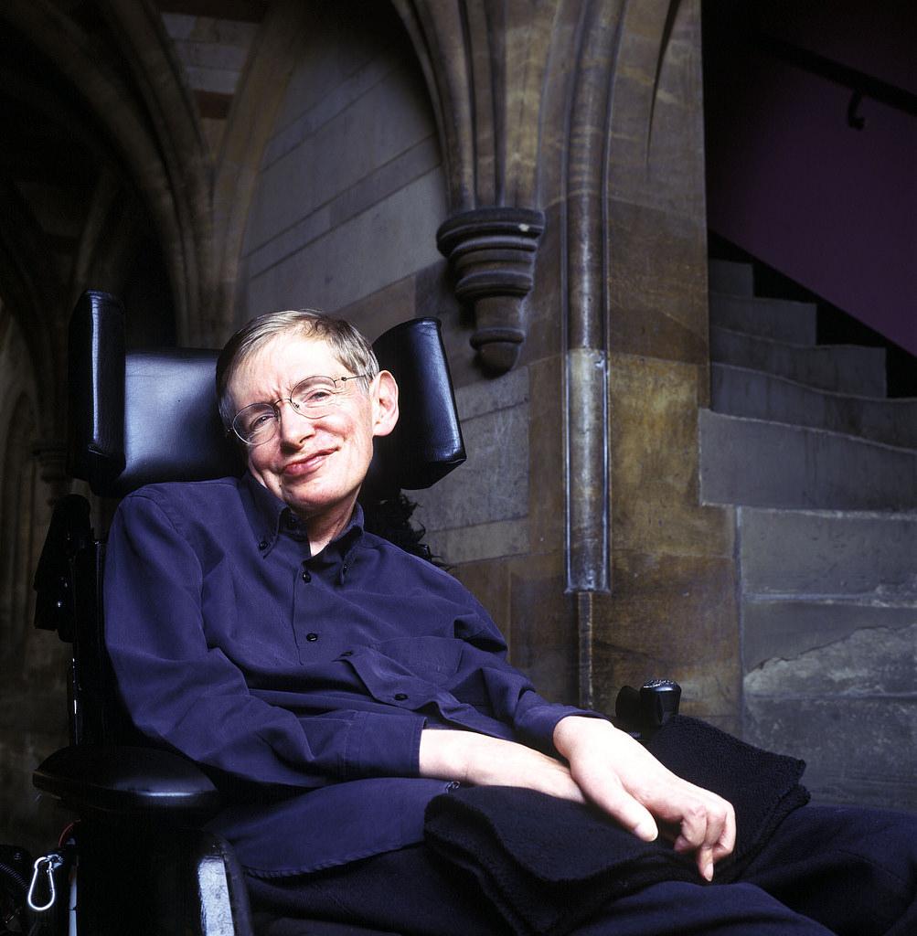 Foto: Stephen Hawking/Flickr