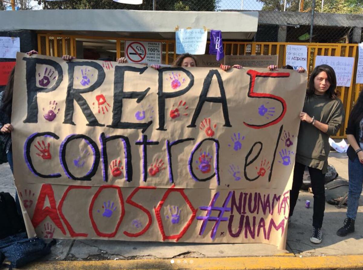 El profesor de historia de prepa 5 acusado de acoso sexual fue despedido por la UNAM. Foto: Instagram / rrebelionn