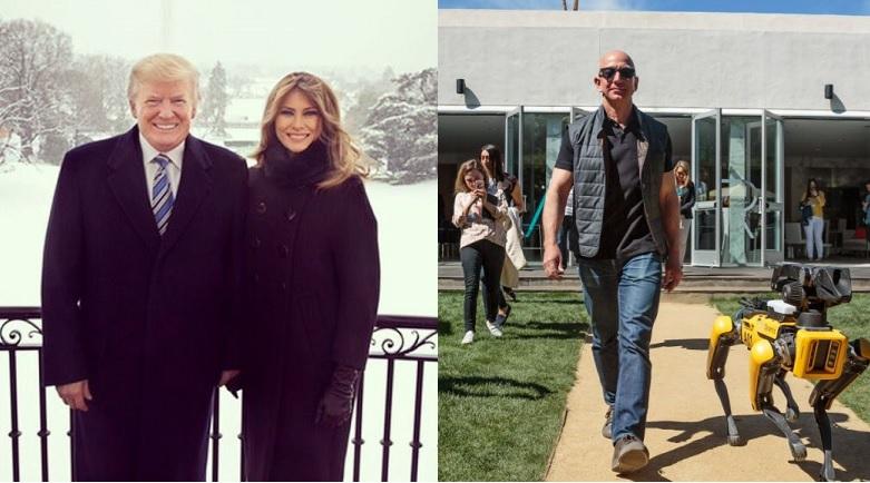 El considerado hombre más poderoso del mundo vs el hombre más rico del mundo.