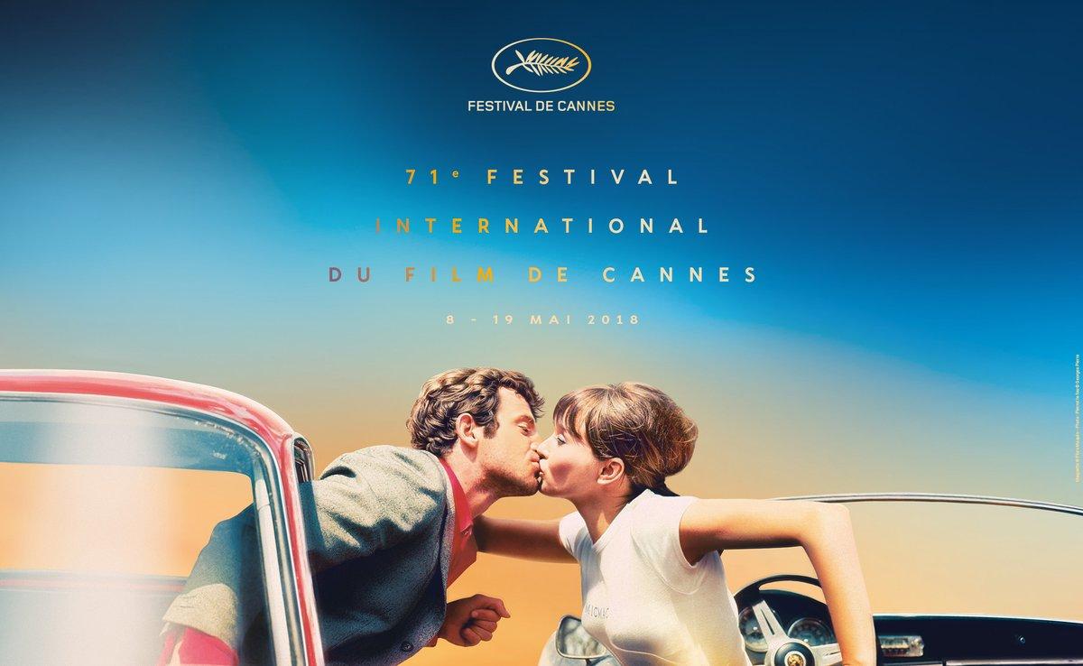 Foto: Cartel del Festival de Cannes 2018 / Twitter @Festival_Cannes