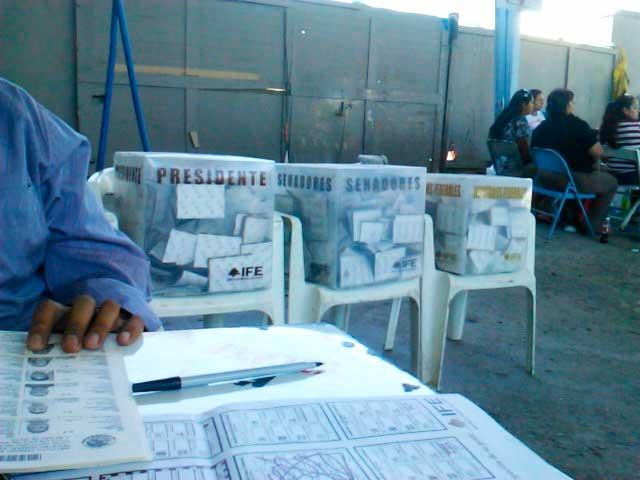 Después de los 40 años los mexicanos tienden a votar más. Foto: Gabriel Flores Romero / algunos derechos reservados.