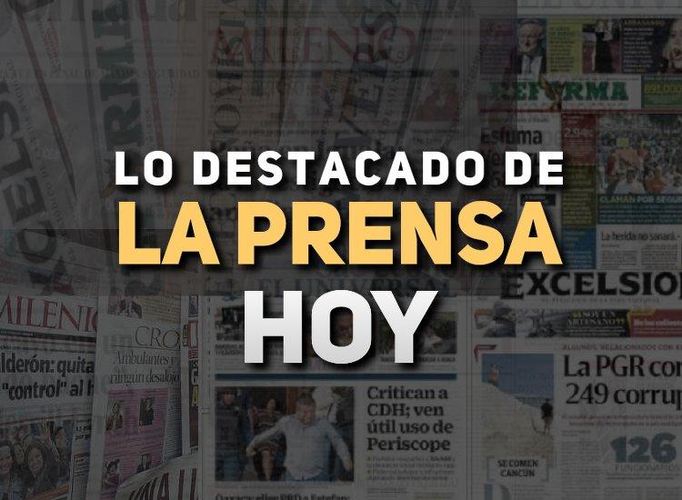 Arena Pública trae para ti las noticias de México hoy 16 de mayo.