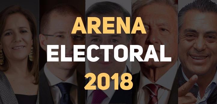 Arena Pública presenta el último corte de las encuestas presidenciales 2018 hoy 17 de mayo.