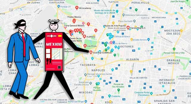 A solo un año de comenzar la expansión del internet en México, Guía Roji sacó un software de cartografía.
