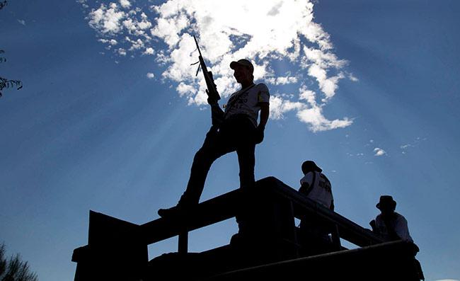 La policía comunitaria es un fenómeno incorporado al concepto de justicia indígena (Foto: Esther Vargas)