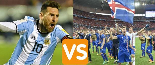 Argentina busca su tercera copa del mundo, Islandia participa por primera vez. Nada en un mundial podría ser más parecido a un David vs Goliat.