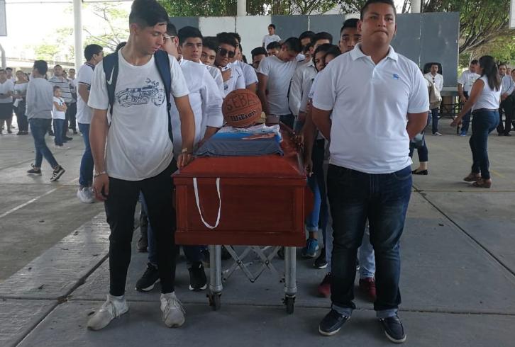 El último adiós de jóven veracruzano que fue secuestrado (Fuente: @hylciatrujano)
