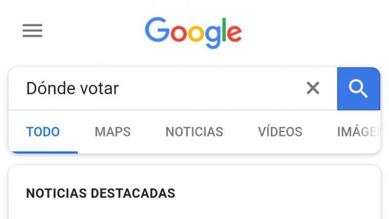 Google habilita herramientas de búsqueda para elecciones en México Foto: @googlemexico