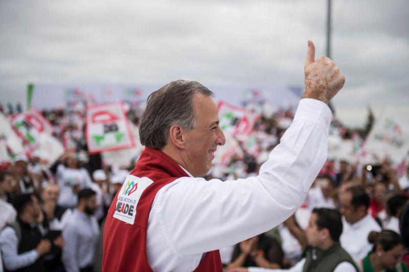 José Antonio Meade, candidato presidencial Foto: @JoseAMeadeK