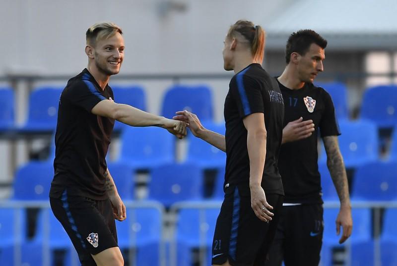 Rusia vs Croacia Mundial Rusia 2018. Foto: Twitter selección de Croacia @HNS_CFF