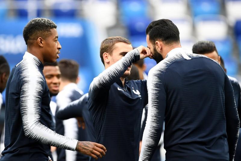Francia vs Bélgica Mundial Rusia 2018 Foto: Twitter selección de Francia @equipedefrance