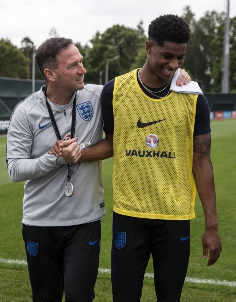 Inglaterra vs Croacia Mundial Rusia 2018. Foto: Twitter selección de Inglaterra @england