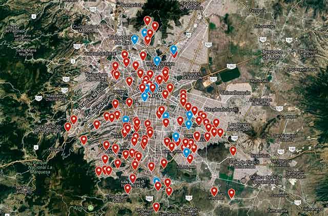 Arena Pública te presenta un mapa con las estadísticas de menores desaparecidos en la CDMX con base en los datos del programa Alerta Amber.