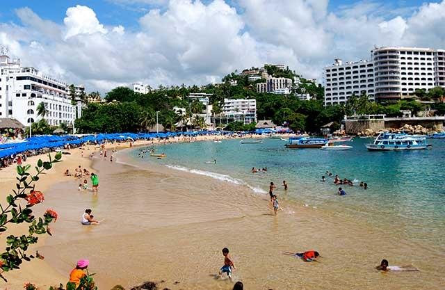 Varias playas mexicanas que ostentan el distintivo Blue Flag por compromiso medioambiental se encuentran en los municipios más violentos del país (Foto: Miguel Ángel Álvarez Bernardo)