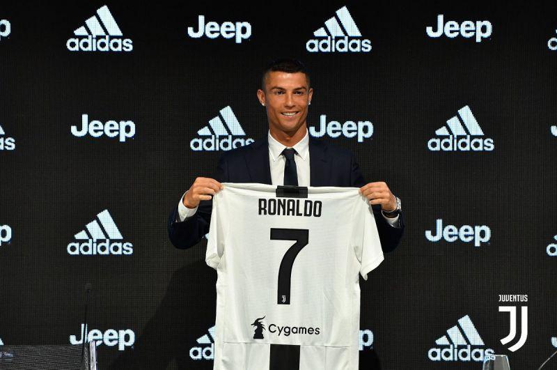 Presentación de Cristiano Ronaldo como jugador del Juventus Foto: Twitter Juventus @juvetusfc