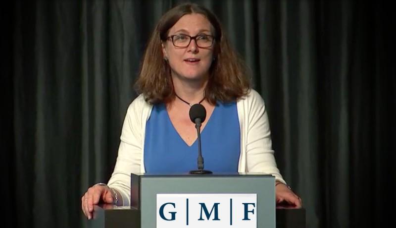 Cecilia Malmström, comisaria de Comercio Europea Foto: Twitter Departamento de Comercio de la Unión Europea @Trade_EU