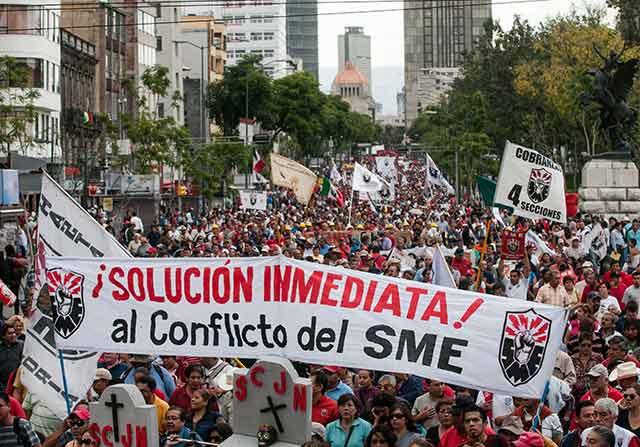 Ni AMLO ni miembros de su equipo han respondido oficialmente a las exigencias de los sindicatos (Foto: Eneas de Troya)