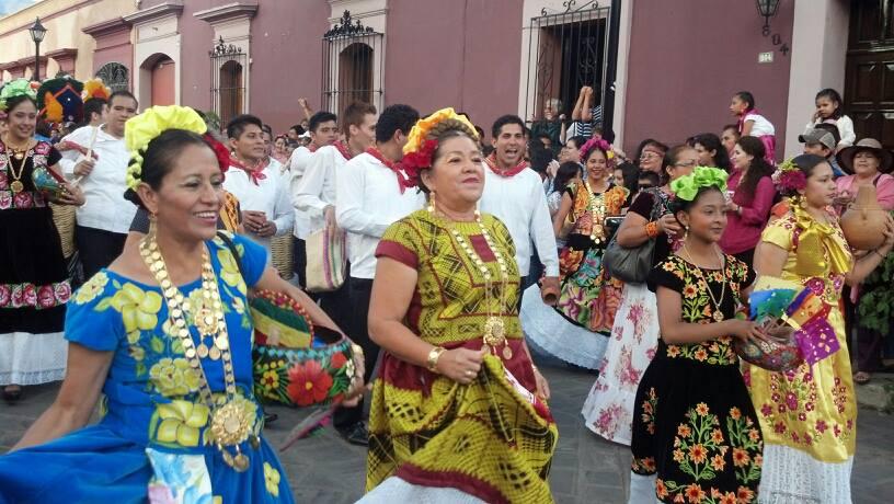 Del 23 al 30 de julio la ciudad de Oaxaca de Juárez vivirá la fiesta anual de la Guelaguetza. Foto: Archivo.