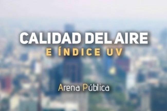 La calidad del aire en CDMX y Edomex, hoy viernes 10 de agosto de 2018.