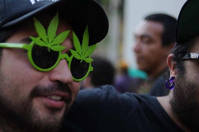 Se estima que el narcotráfico solo representa el 25% de los ingresos del crimen organizado. Foto: amigosdelcannabis / algunos derechos reservados.
