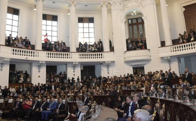 Instalación del primer Congreso de la Ciudad de México y entrada en vigor de la nueva Constitución.