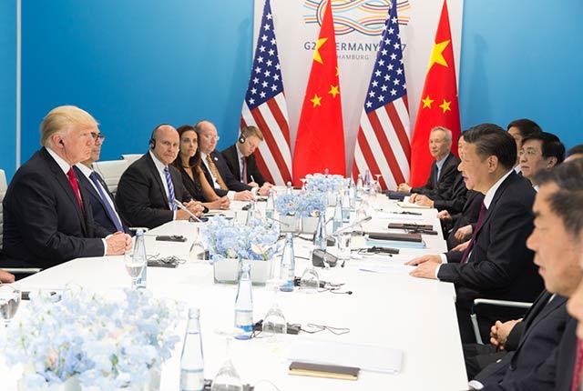 Trump insiste en que las tarifas han dado ventaja a EU en la mesa de negociación (Foto: Oficina del Presidente de EU)