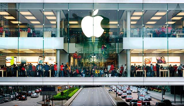 IBM ahora vale 188% más que 45 años atrás con 138 mmd, una séptima parte del valor de Apple. Foto: Vin Crosbie