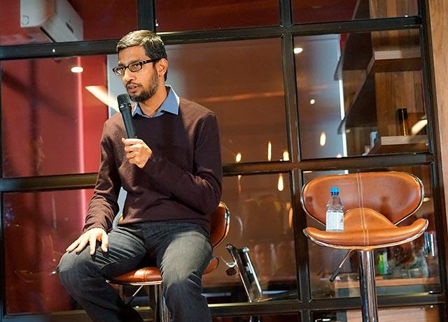 El CEO de Google ya había sido convocado para comparecer ante el Congreso de EU pero no asistió (Foto: Nguyen Hung Vu)