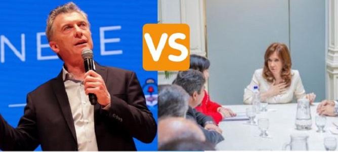 Mauricio Macri, presidente de Argentina o la expresidenta Cristina Fernández de Kirchner ¿Quién es el culpable de la crisis?