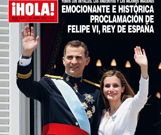La revista ¡Hola! se edita en 31 países de cinco continentes.