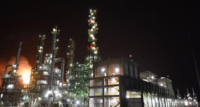 Refinería de Salina Cruz. Foto: Petróleos Mexicanos.