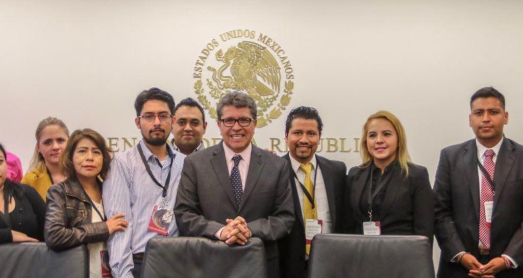 Ricardo Monreal, coordinador de Morena en el Senado, propondrá este 11 de octubre una reforma a la Ley Orgánica del Poder Judicial de la Federación.