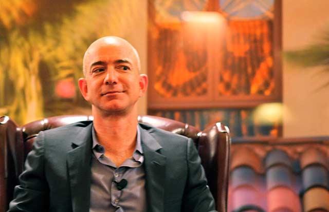 Jeff Bezos, fundador de Amazon.  Foto: Steve Jurvetson.