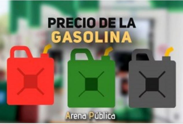 Precio de la gasolina en México hoy lunes 22 de octubre.